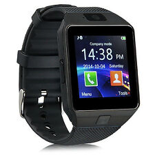 Man DZ09 Black Android Bluetooth Sports Smart Watch Phone Mate for iPhone Camera