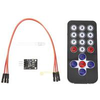 4pcs/set New Infrared IR Wireless Remote Control with Module Kit for Arduino Set