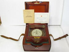 1-MChZ (Poljot) Chronometer Vintage USSR Soviet Navy Marine Ship Submarine Clock