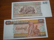 Burma  -  50  Kyat   # 73  unc.