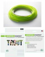 Winston 5wt Trout Energy Fly Line WF5F Chartreuse/Willow