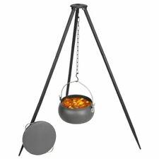 Gulaschkessel Dreibein Glühweinkessel Suppentopf Eintopf doppelt emailliert 22 L