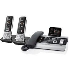 Siemens Gigaset dx800a + 2 x s850hx combiné + coque Support Système téléphonique comme neuf