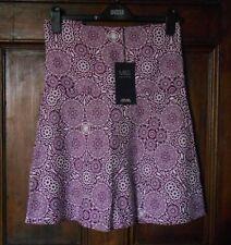 Linen A-line Short/Mini Skirts for Women