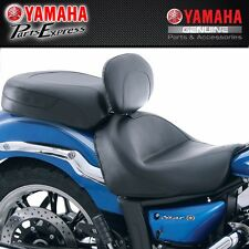 V STAR 1300  YAMAHA DRIVER BACKREST WIDE TOURING SEAT BY MUSTANG DBY-ACC56-12-75