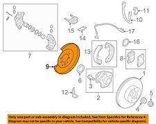 NISSAN OEM Rear Brake-Backing Plate Splash Dust Shield 44020JL06A