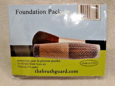 The Brush Guard- 5 Pack of Mesh Make-Up Brush Covers, Foundation Pack