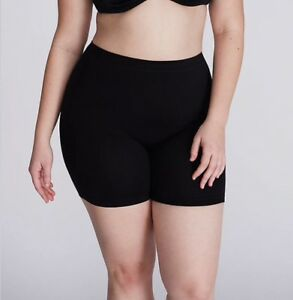 Lane Bryant CACIQUE - Level 1 Skimmie Smoother Short Panty - Black - 14/16