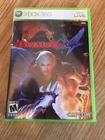 Devil May Cry 4 Xbox 360 Cib Game Complete Mint Disk Works W1