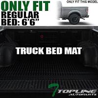 For 1999-2007 Silverado//Sierra Stepside 6.5/' Rubber Truck Bed Floor Mat Liner V2