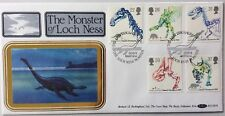 Benham 20.8.1991 Dinosaurs FDC The Loch Ness Monster, Nessie, Inverness.