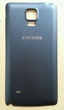 NEW SAMSUNG GALAXY NOTE 4 SM-N910A BLACK BATTERY DOOR BACK REAR COVER For AT&T
