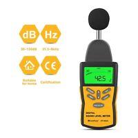 30~130dB Digital Sound Level Meter Decibel Noise Tester Measurement Bar graph