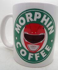 Morphin Power Rangers Starbucks Parodie 11 Oz (environ 311.84 g) Mug Mugs Qualité Design Funny