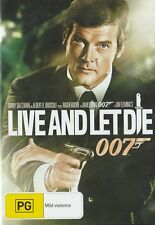James Bond LIVE & LET DIE Brand New but UNSEALED Region 4  UPC: 9321337143354
