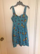 DISNEY BEAUTY AND THE BEAST JUNIORS SIZE MED SKATER DRESS