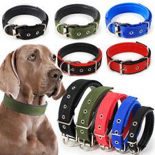 Cómoda correa ajustable de nylon Collares de perros pequeños Perros Grandes Mascotas cinturones de cuello