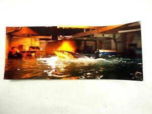 "Original Jaws Studio Movie Set Color Photo Still 4"" x 10"""