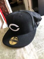 NEW ERA 59Fifty Black/White Fitted Cap Chicago Bears Size 7 3/4