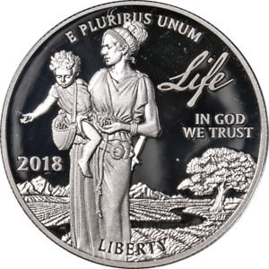 2018-W Platinum American Eagle $100 Proof - Preamble to Independence - Life