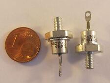 2 Stück BZX98C5V1 Leistungs Z-Diode 5,1V, 13W, DO4 Gehäuse (AE18/7564)