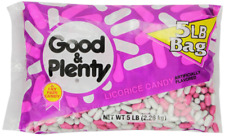 Good & Plenty Licorice Candy 5 Pound Bag