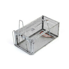 Animal Mouse Trap Metal Steel Cage for Live Rodent Control Rat Mice Squirrel Us