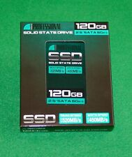 "120 GB SSD (Solid State Drive) Inland Professional 2.5"" SATA 6Gb/s NEW"