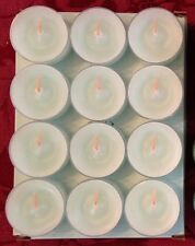 PartyLite CALM WATERS Tealight Candles V04143 New 12 NIB Ocean Breeze Retired