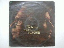 AMITABH BACHCHAN RECITES DR HARIVANSH RAI agnipath 1979 RARE LP bollywood EX