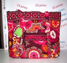 VERA BRADLEY VILLAGER RETIRED CARNABY SHOULDER  1 ONLY NWT