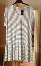 Viscose Striped Midi NEXT Dresses for Women