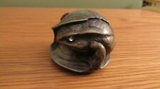 1882 St Petersburg Russian Frog Paperweight/Ornament