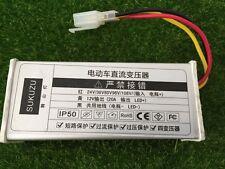 24V/48V/72V/96V/108V To 12V 20A DC Converter Adapter for Electric Car Battery