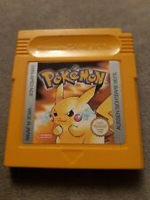Pokemon Gelbe Edition -Nintendo Game Boy Color - Modul -SPEICHERT/deutsch TOP