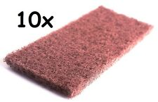 10x Copper Pipe Cleaner Clothes for Plumbers Soldering Cleaning Tool 140mm x60mm