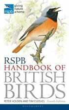 RSPB Handbook of British Birds by Tim Cleeves New Paperback Book