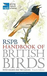 RSPB Handbook of British Birds by Tim Cleeves New Paperback Book