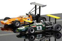 Scalextric Legends Brabham BT26A & McLaren M7C Slot Car 1/32 C3589A Grand Prix