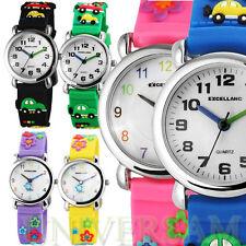 Sportliche Excellanc Armbanduhren aus Silikon/Gummi für Unisex
