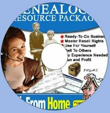 Genealogy Resource Package with Master Resell Rights