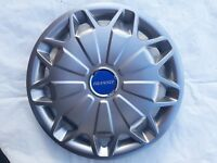 """15"""" WHEEL TRIMS TO FIT FORD TRANSIT VAN MK8 2013 - SET OF 4 TRIMS WITH BADGES"""