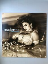 Madonna Like A Virgin Vinyl 1st Press 1984 9 Track LP record No Into The Groove