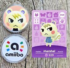 Marshal #264 Animal Crossing Amiibo Coin with Gift Bag - New Horizons