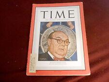 MAY 10 1948 TIME MAGAZINE - BELGIUM PREMIER SPAAK