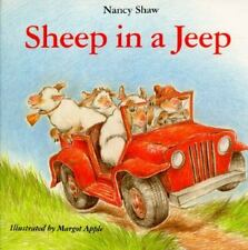 SHEEP IN A JEEP by Shaw, Nancy E.