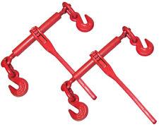 "2 Ratchet Chain Load Binder 3/8"" - 1/2"""