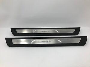 11-18 Grand Cherokee Durango SRT New Door Sill Guard Scuff Plate Pair Mopar Oem