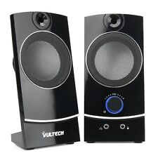 CASSE AUDIO SPEAKER PC COMPUTER USB NOTEBOOK ALTOPARLANTI STEREO IPOD MP3 MP4