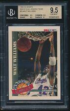 1992-93 Hoops Magic's All-Rookie Team #6 Walt Williams rc BGS 9.5
